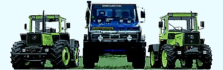 Unimog Parts, Unimog und MBTRAC Parts for MB-TRac
